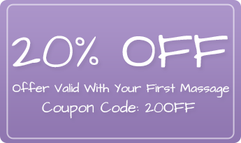 20% Off First Massage Coupon – Mobile Massage Company in Columbia, MD